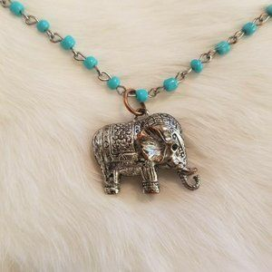 Ceremonial Elephant Necklace 1670